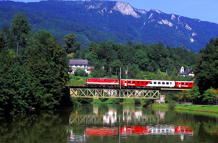 Rudolfsbahn - Herbergt s werelds spiegelt ...